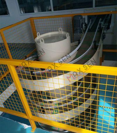 昆山MAXSEN定制物流升降系统 螺旋升降机 链板螺旋输送机