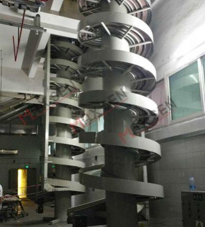 昆山定制链板式螺旋输送机W400