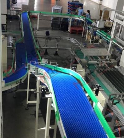 广州螺旋式环形模块网带输送机