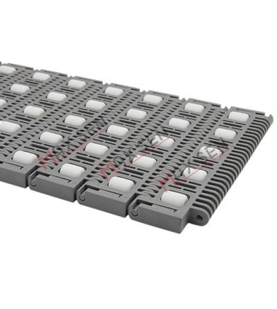 MX700-1滚珠型塑料模块网带